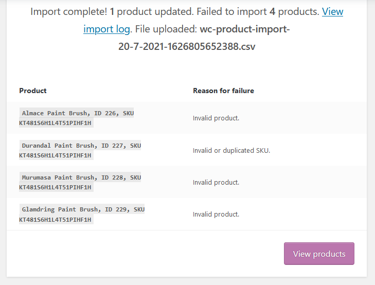 There may be import errors. Check the error log.
